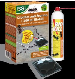 Biokill fourmis contre les fourmis dans et autour de la for Astuces contre les fourmis dans la maison