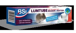 Muizen vangen met lijm